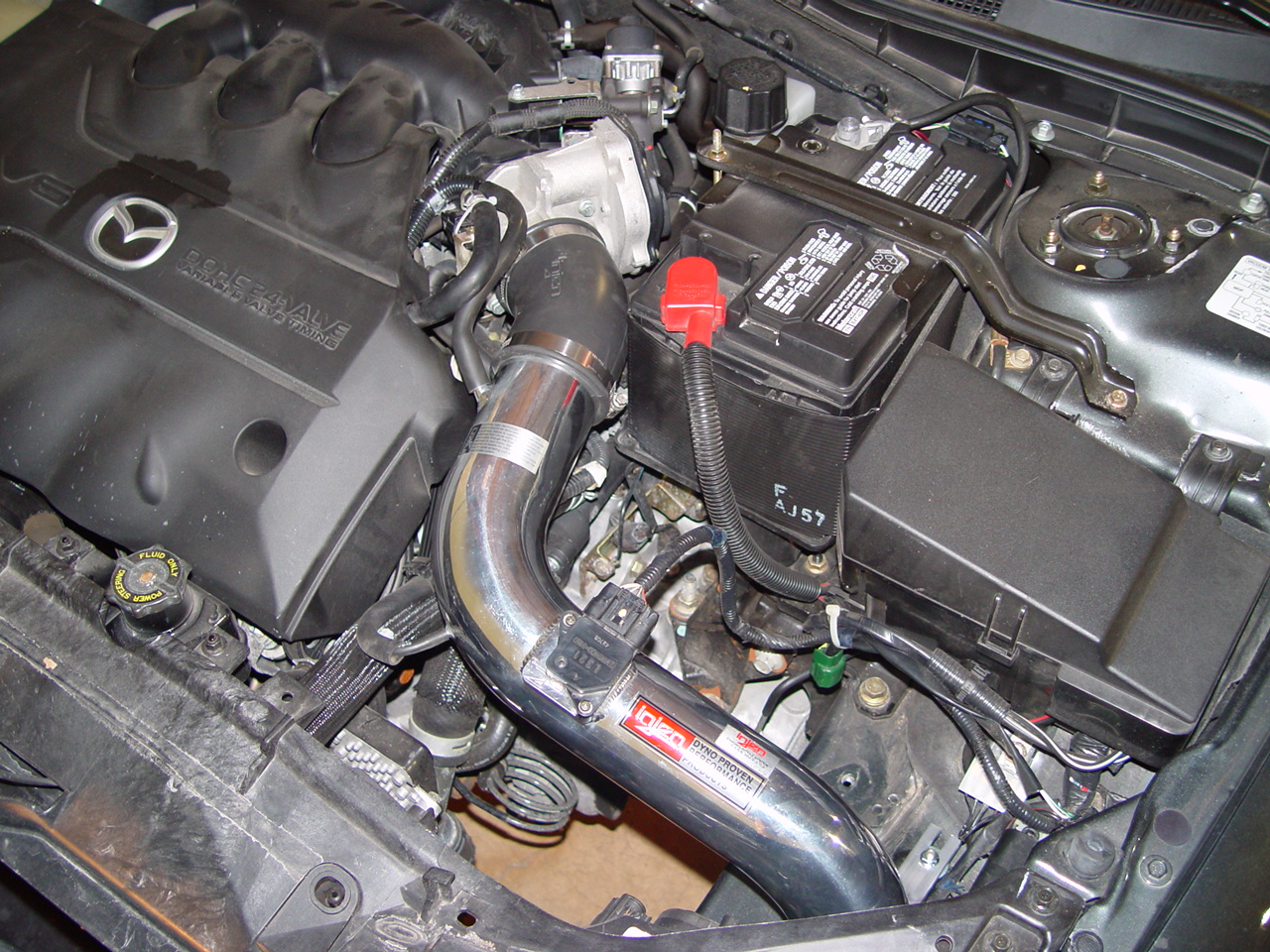 Thecarhack September 2006 Archives Mazda 6 Engine Diagram Now That More Air Is Coming Into The We Focused On Get It All Back Out Again Went To Our Friends At Injen And Purchased A Great Looking